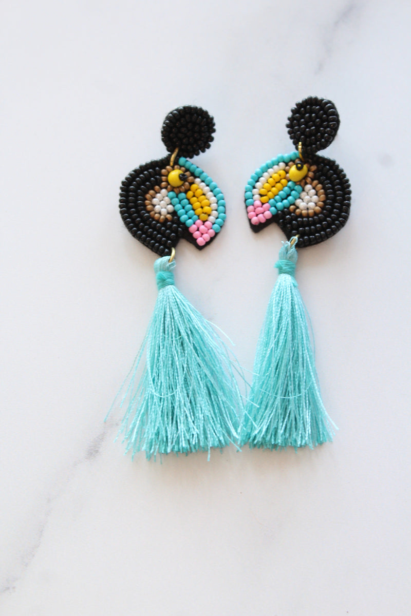 Toucan Earrings