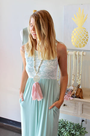 Lace Forever Maxi