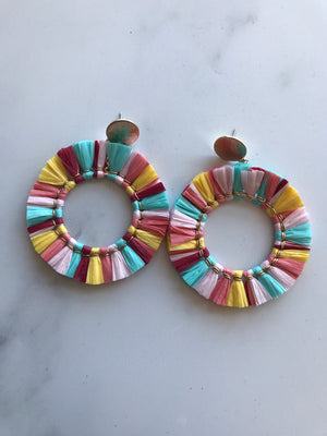 Full Fan Earrings