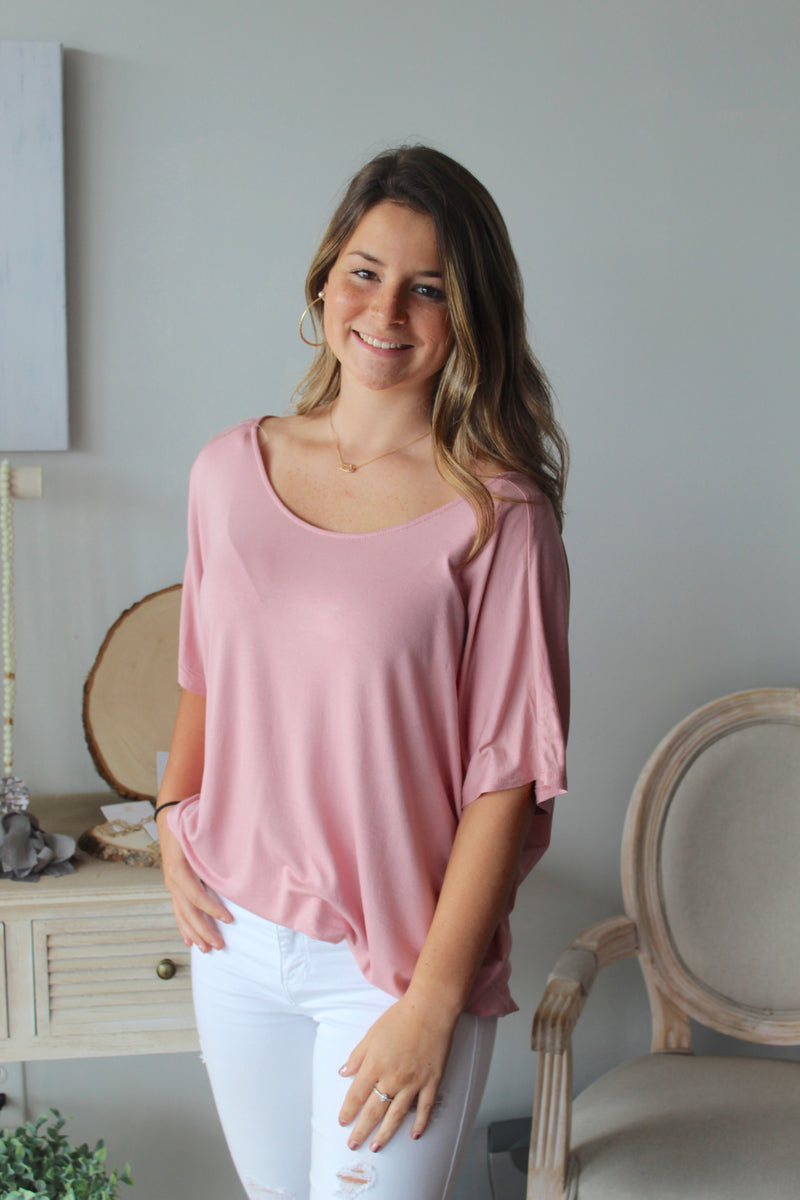 Talk The Talk Top (Pink)