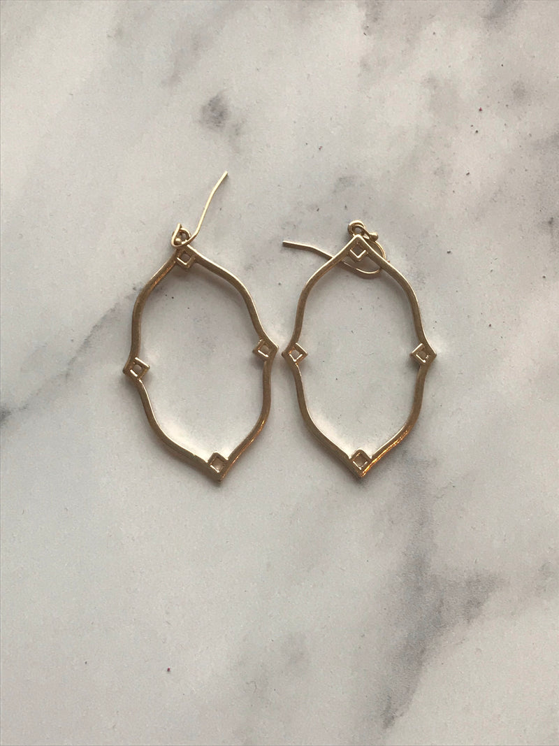Grace Earrings In Gold