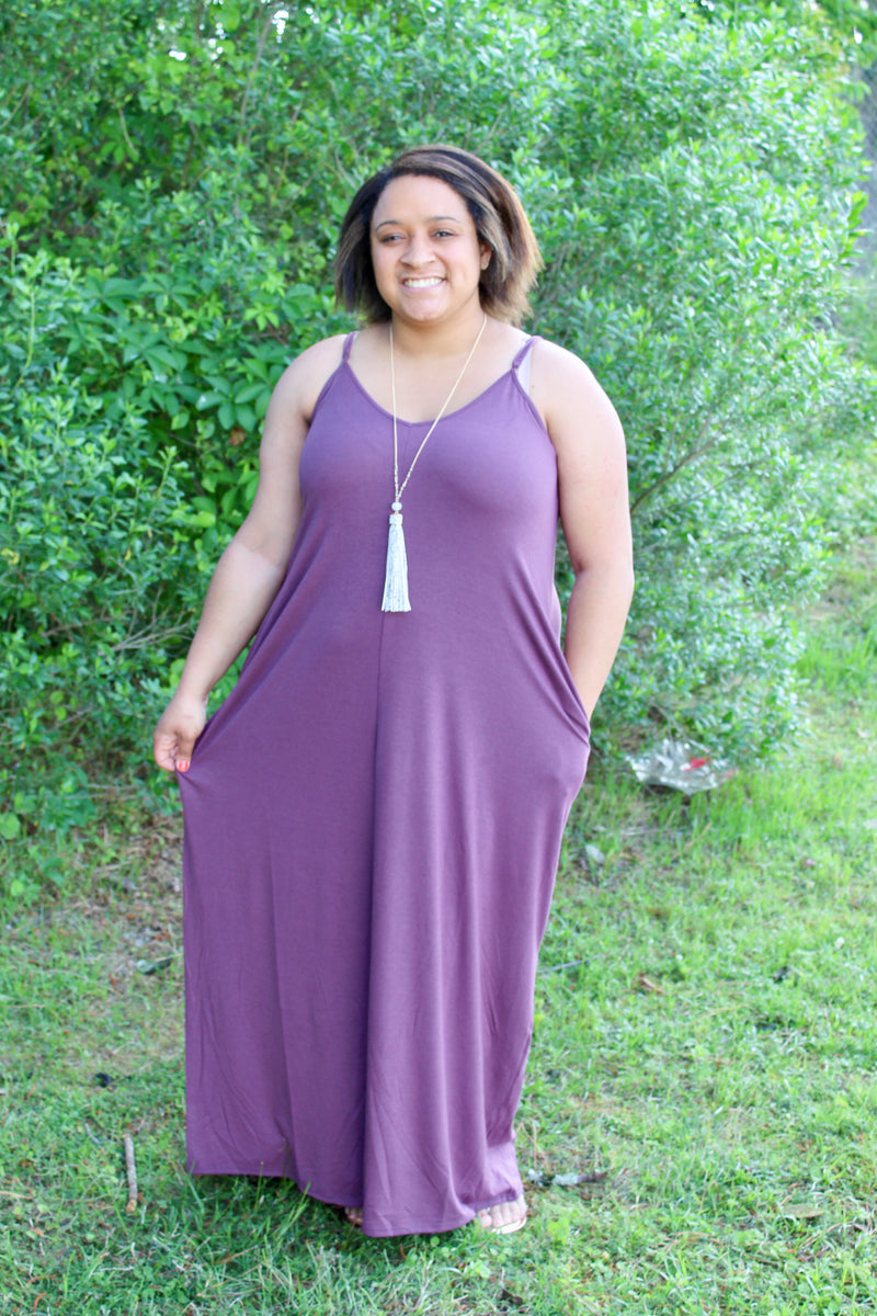 Take Me To Mexico dress (Eggplant)