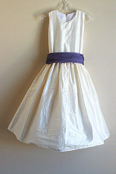 Flower Girl Purple Sash