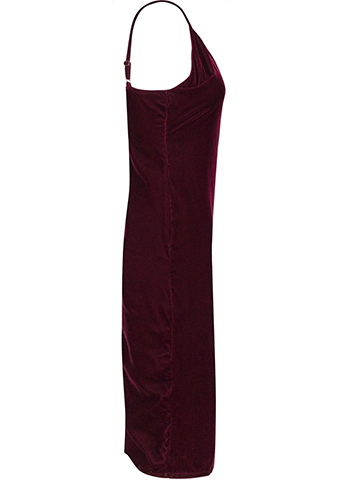 The Simone - Burgundy Velvet