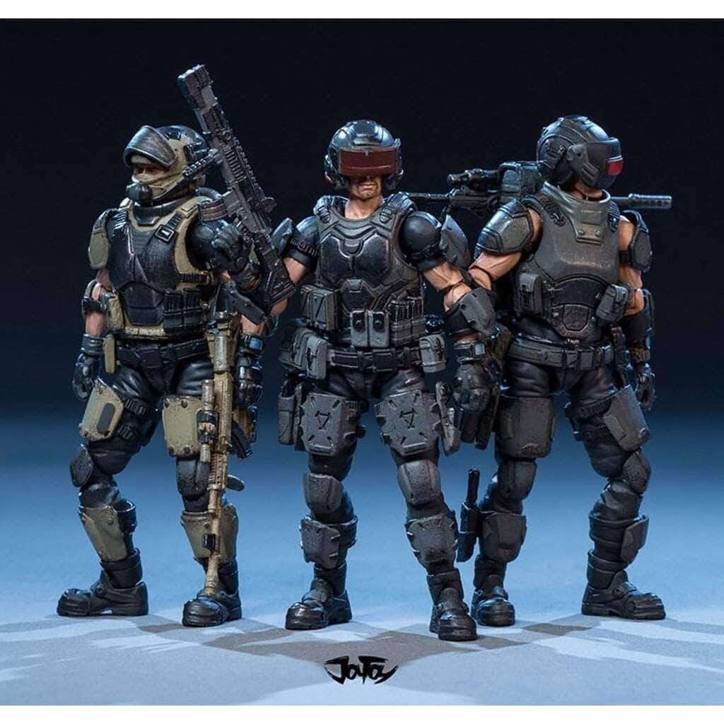 Dark Source Military Themed Action Figures