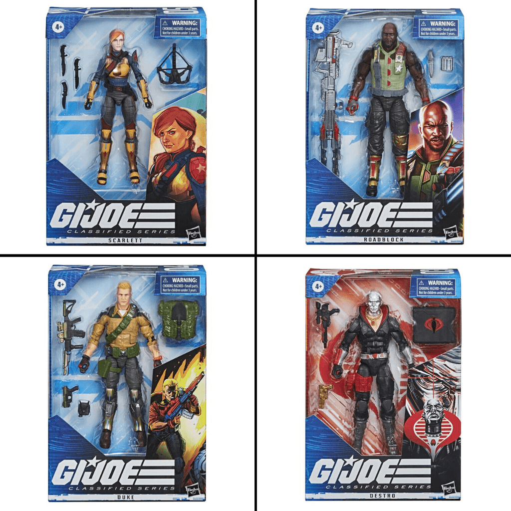 New G.I. Joe Classified 6 Inch Action Figures Revealed!