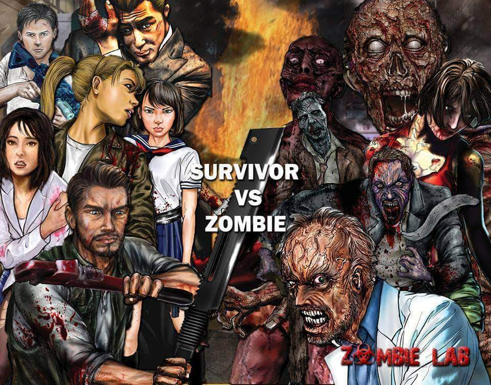 Survivor or Zombie | Zombie Lab Figures