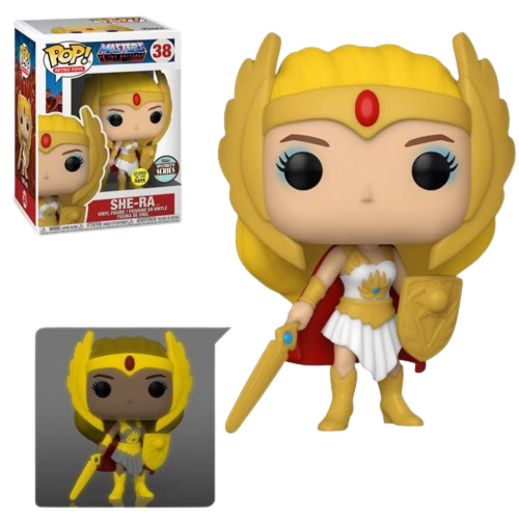 Funko Funko Pop Masters of the Universe Specialty Series She-Ra (Glow-in-the-Dark) Pop!