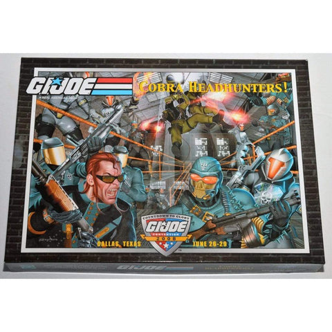 Hasbro G.I. Joe Complete Figures 2008 JoeCon Exclusive Box