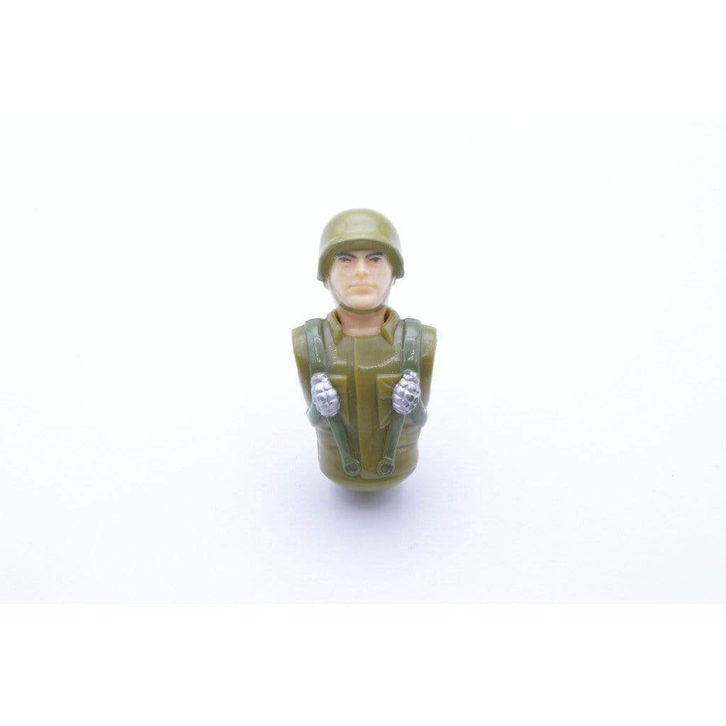 Hasbro Parts Action Soldier (1994 v1) Upper Body & Head