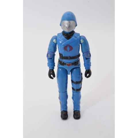 Image of Hasbro G.I. Joe Incomplete Cobra Commander Figure ( 1983 v1.5 )