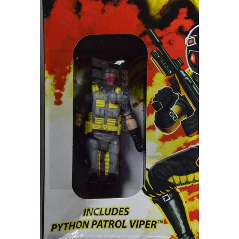 Image of Hasbro Cobra Vehicles Conquest X-30 with Python Patrol Viper (2009)