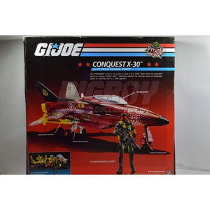 Hasbro Cobra Vehicles Conquest X-30 with Python Patrol Viper (2009)