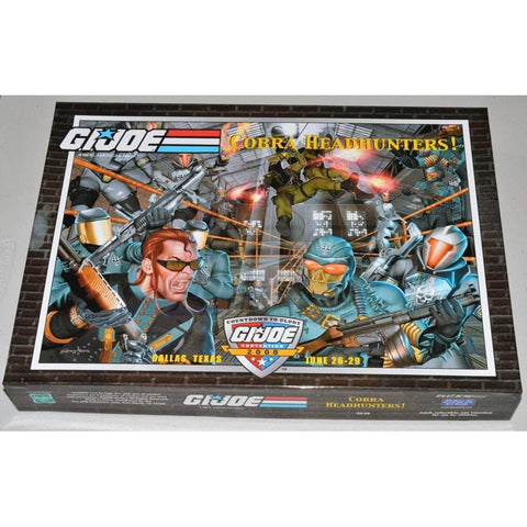 Hasbro G.I. Joe Carded 2008 Joecon Exclusive Boxed Set - Cobra Headhunters!