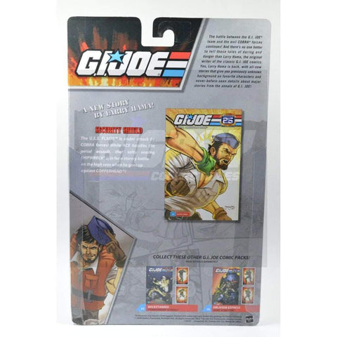 Image of Hasbro G.I. Joe Carded 25th Anniversary Comic Book 2 Pack Copperhead & Shipwreck