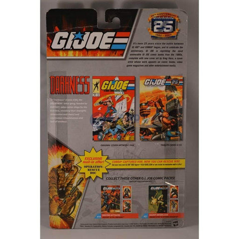 Image of Hasbro G.I. Joe Carded 25th Anniversary Comic Book 2 Pack Dreadnok Torch and Dreadnok Ripper