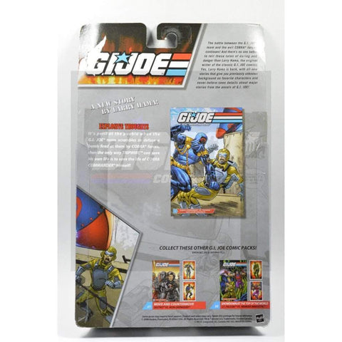 Image of Hasbro G.I. Joe Carded 25th Anniversary Comic Book 2 Pack - TripWire & Cobra Commander