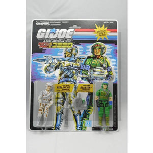 Hasbro G.I. Joe Carded Battle Force 2000 Avalanche & Blaster (1987)