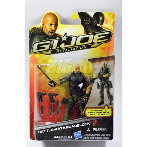 Image of Hasbro G.I. Joe Carded Battle-Kata Roadblock (2013 v23)