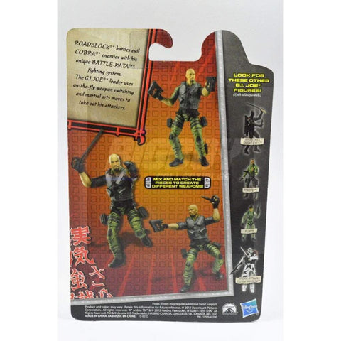 Hasbro G.I. Joe Carded Battle-Kata Roadblock (2013 v23)