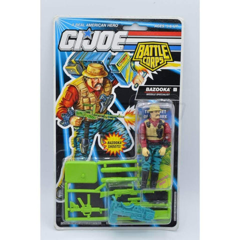 Image of Hasbro G.I. Joe Carded Bazooka Figure (1993 v3)