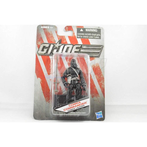Image of Hasbro G.I. Joe Carded Cobra Commander (2012 v50)