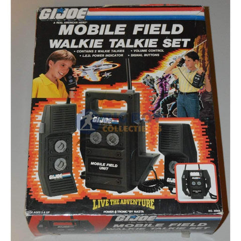 Image of Hasbro G.I. Joe Carded GI Joe Mobile Field Walkie Talkie Set