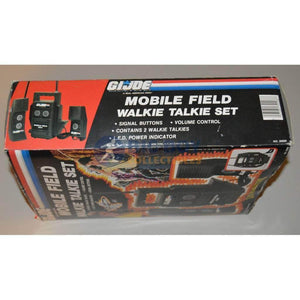 Hasbro G.I. Joe Carded GI Joe Mobile Field Walkie Talkie Set