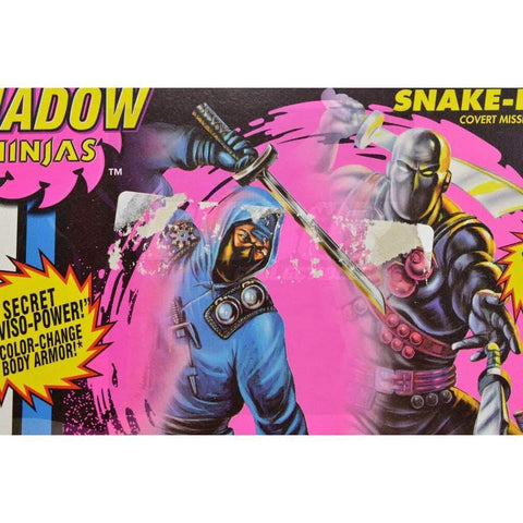 Hasbro G.I. Joe Carded Snake Eyes (1994 v6)