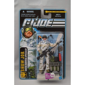 Hasbro G.I. Joe Carded Snow Job (2010 v7)