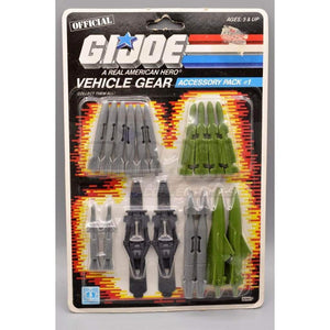 Hasbro G.I. Joe Carded Vehicle Gear Accessory Pack #1  (1987)