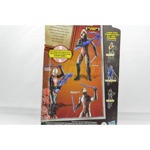Image of Hasbro G.I. Joe Carded Zartan (2012 v21)