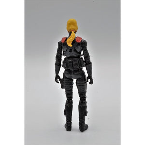 G.I. Joe Club 2018 Exclusive Cobra Night Stalkers Female Trooper (Blonde Hair)