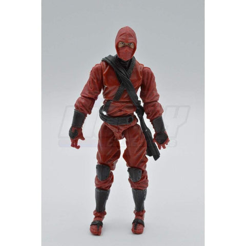 Image of Hasbro G.I. Joe Complete Figures Red Ninja (2012 v4)