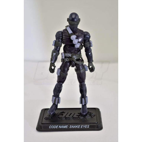 Image of Hasbro G.I. Joe Complete Figures Snake Eyes (2008 v37)