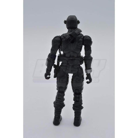 Image of Hasbro G.I. Joe Complete Figures Snake Eyes (2009 v43)