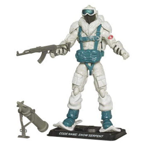 Hasbro G.I. Joe Complete Figures Snow Serpent (2008 v8)