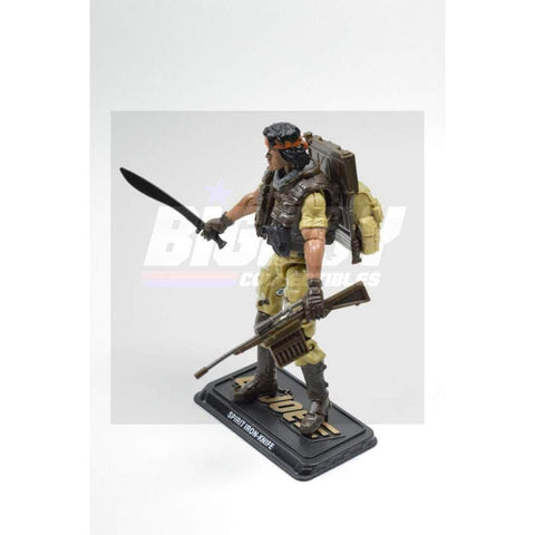 Image of Hasbro G.I. Joe Complete Figures Spirit Iron Knife Figure (2015 v6)