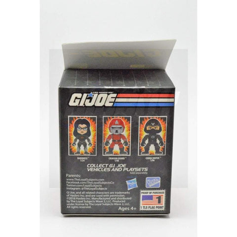 Image of Hasbro G.I. Joe Complete Figures Wave 2 Loyal Subjects Snake Eyes