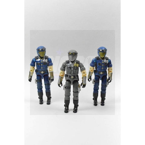 Image of Hasbro G.I. Joe Incomplete G.I Joe A Real American Hero Collection Cobra Infantry Team (1998)