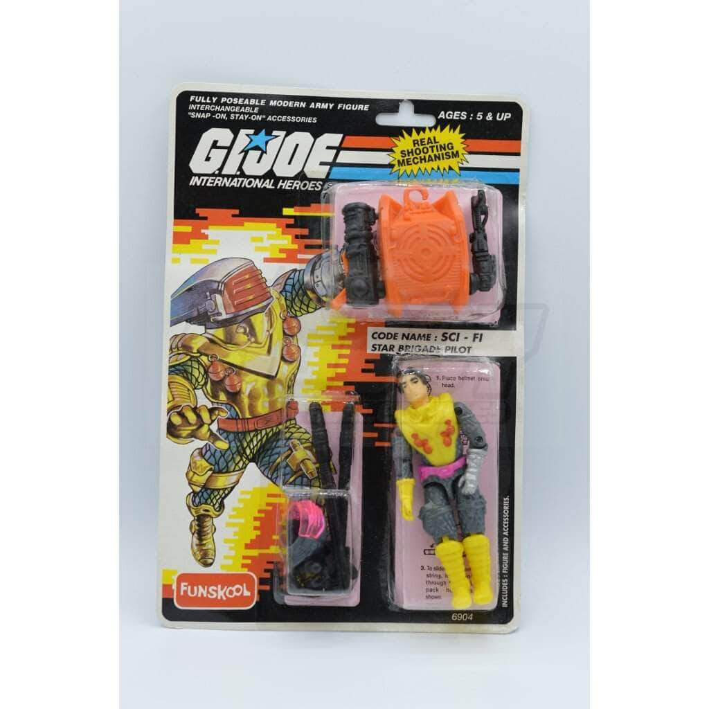 Hasbro G.I. Joe International Sci-Fi (India)