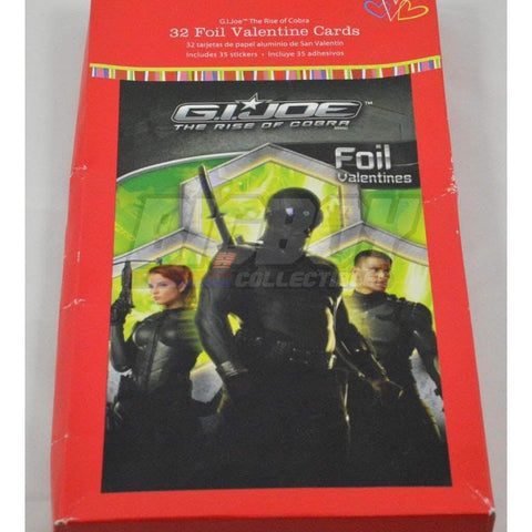 Image of Hasbro G.I. Joe Merchandise GI Joe Rise of Cobra Valentine's Day Cards