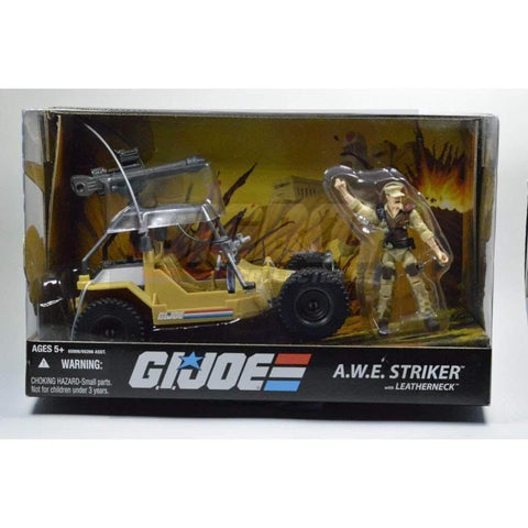 Hasbro G.I. Joe Unopened A.W.E Striker with Leatherneck (2008)