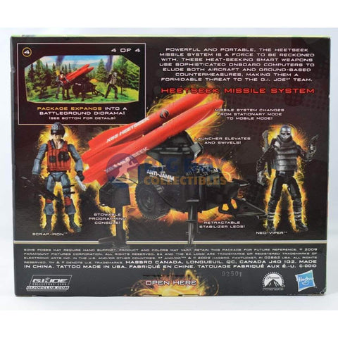 Image of Hasbro G.I. Joe Unopened Heetseek Missile System