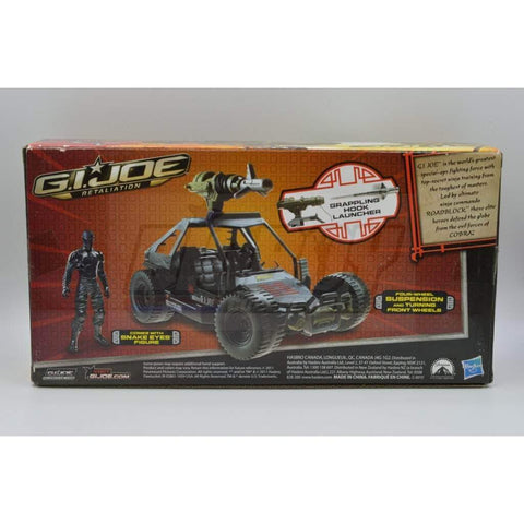 Hasbro G.I. Joe Unopened Ninja Commando 4X4 with Grappling Hook Launcher