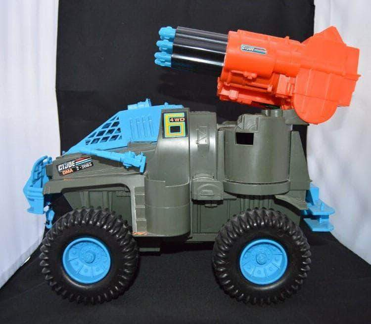 Hasbro G.I. Joe Vehicle Battle Wagon (1991)