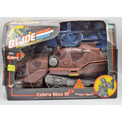 Image of Hasbro G.I. Joe Vehicle Cobra Hiss IV (2002)
