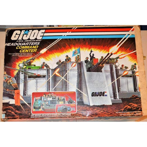 Hasbro G.I. Joe Vehicle GI Joe Headquarters (1983)