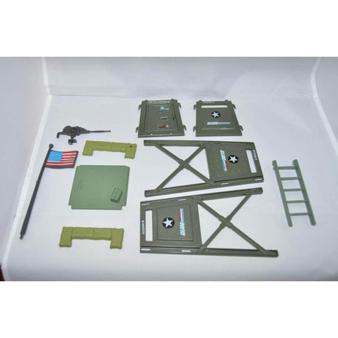 Image of Hasbro G.I. Joe Vehicle GI Joe Watch Tower Playset ( 1984 )