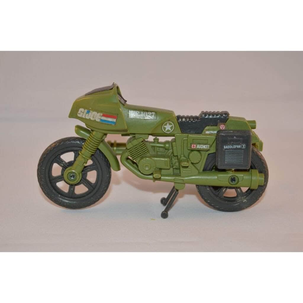 Hasbro G.I. Joe Vehicle Ram (Rapid Fire Motorcycle 1982)